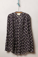 NIP/NWT Anthropologie Pintucked Buttondown by Maeve Sz 0,4 Var Col 5-star Review