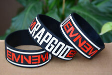 25pcs/lot EMINEM Rubber Bracelet Wristband The Marshall Mathers LP 2 Rapgod