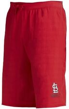 St. Louis Cardinals MLB Mens Majestic Cotton Shorts Red Big & Tall Sizes