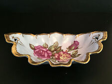 vintage ceramic relish tray