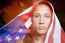 Lolo Jones 8x10 11x17 16x20 24x36 27x40 Olympics Track and Field Photo Poster C