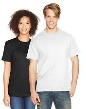 6 Hanes Mens Beefy-T Short-Sleeve White T-Shirt Mens S-6XL Wholesale Pricing
