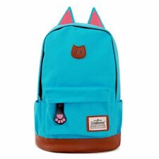 New Women Girl Canvas School Bag Backpack Travel Satchel Fashion Campus Rucksack