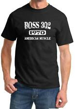 1970 Ford Mustang Boss 302 American Muscle Car Design Tshirt NEW FREE SHIP