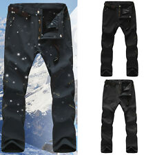 New Men's Outdoor Winter Warm Mountain Trousers Waterproof Hiking Climbing Pants