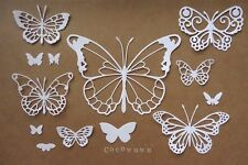 Selection of Butterfly Die Cuts *1 set* Scrapbooking Cardmaking Embellishment