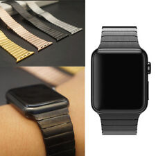 Stainless Steel Butterfly Buckle Watch Band Strap For Apple Watch Band iWatch