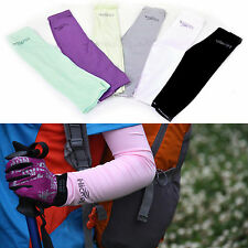 Warmer Basketball Bike Hiking Camping Stretch Arm Sleeve Cover Sun Protection