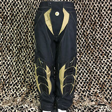 NEW Dye C7 Padded Tournament Paintball Pants - Gold/Black - XX-Large
