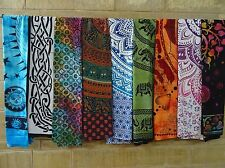 100 PCS Wholesale Lot Indian MixTapestry Wall Hanging Beach Throw Bedding