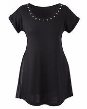Womens  size  18  top black  short sleeve evening top  SALE !!