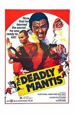 The Deadly Mantis 1978 Drama/Action/Kung-Fu Movie POSTER Shaw Brothers