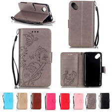 Magnetic Floral Flip Card Holder Leather Wallet+TPU Case Stand Cover For Phones