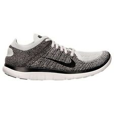 Nike Free Flyknit 4.0 Mens Size Running Shoes Charcoal Light Sneakers 631053 010