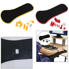 Easy assembly Computer Arm Rest Mouse Pad Support Rest for Chair Desk Armrest AU