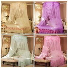 Romantic Elegant Round Lace Insect Bed Canopy Netting Curtain Dome Mosquito Net