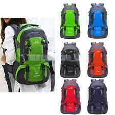 40L Large Outdoor Travel Hiking Rucksack Backpack Camping Military Luggage Bag