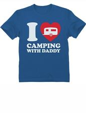 I Love Camping With Daddy - Father's Day Gift Kids T-Shirt Dad & Kid
