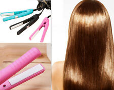 Comb Hot Ceramic Electronic Straightening Hair Straightener Mini Pink Curls Iron