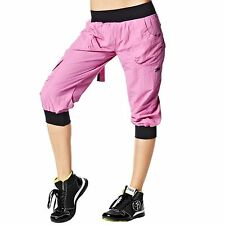 NWT Authentic Zumba Ultimate Orbit Cargo Capri Capris Pants Asst. Colors & Sizes
