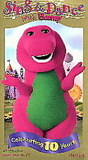 Sing and Dance With Barney (VHS, 1999) Video Tape Movie Kids #4077