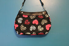 HEARTS GONE WILD BLACK *SKIRT ONLY* FOR THE THIRTY ONE BRAND SKIRT PURSE