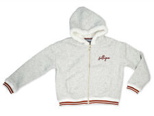 Tommy Hilfiger Girl Zip sweater Teddy Size 128,140,152,164 NEW