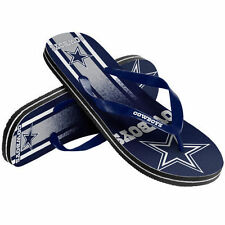 NFL Dallas Cowboys Unisex Gradient Thongs Flip Flops Sandals Football