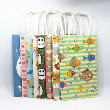 Kraft Paper Handle Boutique Shopping Party Gift Merchandise Carrier Retail Bags