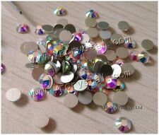 Nail Art Rhinestones Crystal Clear Strass Non Hotfix Flatback Stones for Clothes