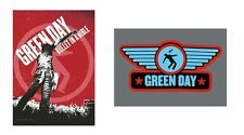 GREEN DAY - BULLET IN A BIBLE / WINGS LOGO - OFFICIAL TEXTILE POSTER FLAG
