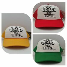 Vintage Jesus is my Homeboy Teenage Millionaire trucker snapback mesh cap hat