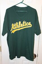 green Oakland Athletics graphic t-shirt (see sizes)