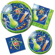 Mad Scientist Party Theme Boy's Birthday Party Tableware