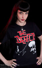 DEFECTS T SHIRT PUNK UK 82 SKULL STREET OI POGO CHAOS
