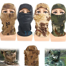 Camouflage Tactical Military Camo Full Face Protection Mask For Bicycle Hunting