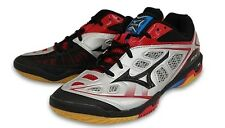 Mizuno JAPAN Badminton Shoes Wave Fang RX 71GA1505 Silver Black Red