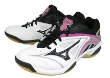 Mizuno JAPAN Badminton Shoes Wave Fang SS Speed Style Fit 71GA1512 White Black