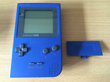 Nintendo Game Boy Pocket Handheld Game Console - BLUE *EXCELLENT CONDITION* RARE
