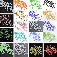 Wholesale 3mm Bicone Faceted Crystal  Jewelry Findings Glass Loose Spacer Beads