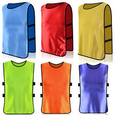 Football Training Bibs Soccer Rugby Basketball Sports Vests 12 Colors 3 Sizes