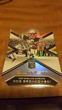 2016 Elite Rob Gronkowski Elitist Insert Card!!!! Patriots!!! + FREE BASE!!!!!!