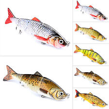 Minnow Fishing Lures Hooks Bass Crankbaits Tackle Swimbait Poppers Bait Lot 5pcs