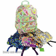 NEW with Tags Vera Bradley CAMPUS Backpack Bag MANY Colors Org $109