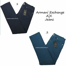 ARMANI EXCHANGE A|X NEW MENS JEANS SKINNY STRAIGHT SLIM FIT NWT,RETAIL PRICE$130