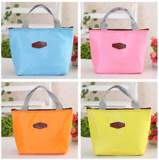 Hot Waterproof Portable Insulated Lunch Storage Box Picnic Food Carry Tote Bag
