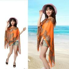 Women Summer Long Sunscreen Soft Chiffon Scarves Shawl Neck Beach Wrap Stole