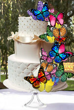 25 Edible Butterfly Wafer Cake Decorations,cupcake toppers,cookie toppers