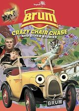 BRUM CRAZY CHAIR CHASE-2004 DVD USA COMPLETE IN BOX MOVIE FREE SHIPPING