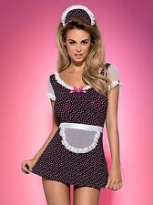 HQ Obsessive Sexy Erotic French MAID Costume Naughty Outfit Dress Fancy Bedroom